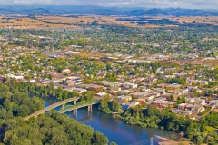 Albany Oregon and River View