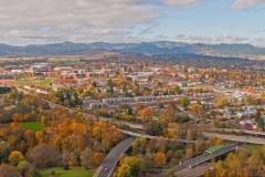 Corvallis Aerial View