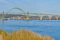 Yaquina Bridge Stock Image