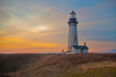 Yaquina Lighthouse Sunset